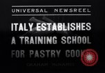 Image of Italian Chefs Rome Italy, 1937, second 12 stock footage video 65675041415