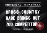 Image of Cross country race Paris France, 1937, second 5 stock footage video 65675041416