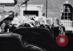 Image of picket line Jamaica New York USA, 1937, second 8 stock footage video 65675041425
