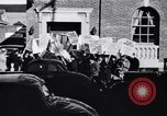 Image of picket line Jamaica New York USA, 1937, second 9 stock footage video 65675041425