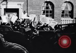 Image of picket line Jamaica New York USA, 1937, second 11 stock footage video 65675041425