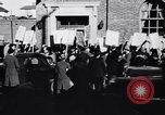 Image of picket line Jamaica New York USA, 1937, second 13 stock footage video 65675041425