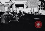 Image of picket line Jamaica New York USA, 1937, second 14 stock footage video 65675041425