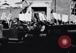 Image of picket line Jamaica New York USA, 1937, second 16 stock footage video 65675041425
