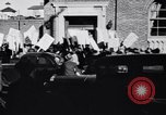 Image of picket line Jamaica New York USA, 1937, second 17 stock footage video 65675041425