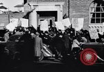 Image of picket line Jamaica New York USA, 1937, second 18 stock footage video 65675041425