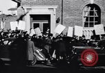 Image of picket line Jamaica New York USA, 1937, second 21 stock footage video 65675041425
