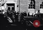 Image of picket line Jamaica New York USA, 1937, second 23 stock footage video 65675041425
