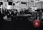 Image of picket line Jamaica New York USA, 1937, second 27 stock footage video 65675041425