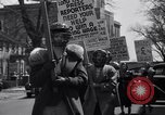 Image of picket line Jamaica New York USA, 1937, second 39 stock footage video 65675041425