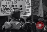 Image of picket line Jamaica New York USA, 1937, second 41 stock footage video 65675041425