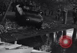 Image of amphibious automobile Rome Italy, 1938, second 22 stock footage video 65675041434