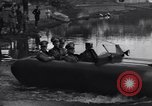 Image of amphibious automobile Rome Italy, 1938, second 28 stock footage video 65675041434