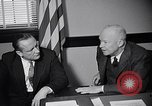 Image of Dwight Eisenhower meeting with William Knowland United States USA, 1953, second 21 stock footage video 65675041444