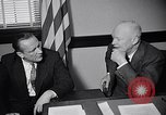 Image of Dwight Eisenhower meeting with William Knowland United States USA, 1953, second 26 stock footage video 65675041444