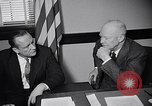 Image of Dwight Eisenhower meeting with William Knowland United States USA, 1953, second 27 stock footage video 65675041444