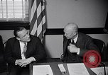 Image of Dwight Eisenhower meeting with William Knowland United States USA, 1953, second 35 stock footage video 65675041444