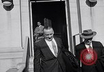 Image of Dwight Eisenhower meeting with William Knowland United States USA, 1953, second 54 stock footage video 65675041444