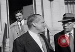 Image of Dwight Eisenhower meeting with William Knowland United States USA, 1953, second 60 stock footage video 65675041444
