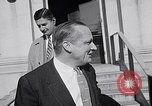 Image of Dwight Eisenhower meeting with William Knowland United States USA, 1953, second 61 stock footage video 65675041444