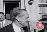 Image of Dwight Eisenhower meeting with William Knowland United States USA, 1953, second 62 stock footage video 65675041444