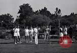 Image of Archery girls Los Angeles California USA, 1937, second 13 stock footage video 65675041450