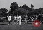 Image of Archery girls Los Angeles California USA, 1937, second 15 stock footage video 65675041450