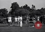 Image of Archery girls Los Angeles California USA, 1937, second 16 stock footage video 65675041450