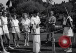Image of Archery girls Los Angeles California USA, 1937, second 17 stock footage video 65675041450