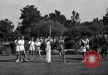 Image of Archery girls Los Angeles California USA, 1937, second 19 stock footage video 65675041450