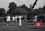 Image of Archery girls Los Angeles California USA, 1937, second 21 stock footage video 65675041450