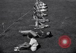 Image of Archery girls Los Angeles California USA, 1937, second 31 stock footage video 65675041450