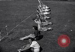 Image of Archery girls Los Angeles California USA, 1937, second 32 stock footage video 65675041450