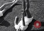 Image of Archery girls Los Angeles California USA, 1937, second 40 stock footage video 65675041450