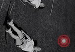 Image of Archery girls Los Angeles California USA, 1937, second 47 stock footage video 65675041450