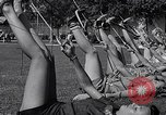 Image of Archery girls Los Angeles California USA, 1937, second 48 stock footage video 65675041450