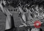 Image of Archery girls Los Angeles California USA, 1937, second 49 stock footage video 65675041450