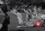 Image of Archery girls Los Angeles California USA, 1937, second 51 stock footage video 65675041450