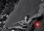 Image of Archery girls Los Angeles California USA, 1937, second 57 stock footage video 65675041450