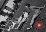 Image of Archery girls Los Angeles California USA, 1937, second 60 stock footage video 65675041450