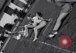 Image of Archery girls Los Angeles California USA, 1937, second 62 stock footage video 65675041450
