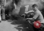 Image of rocket powered race car in Indianapolis Indianapolis Indiana USA, 1946, second 20 stock footage video 65675041470