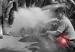 Image of rocket powered race car in Indianapolis Indianapolis Indiana USA, 1946, second 23 stock footage video 65675041470