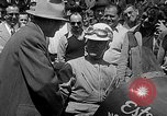 Image of rocket powered race car in Indianapolis Indianapolis Indiana USA, 1946, second 26 stock footage video 65675041470