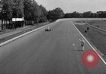 Image of rocket powered race car in Indianapolis Indianapolis Indiana USA, 1946, second 30 stock footage video 65675041470