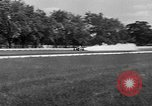 Image of rocket powered race car in Indianapolis Indianapolis Indiana USA, 1946, second 37 stock footage video 65675041470