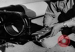 Image of rocket powered sled Muroc California USA, 1948, second 15 stock footage video 65675041471