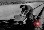 Image of rocket powered sled Muroc California USA, 1948, second 22 stock footage video 65675041471