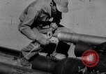 Image of rocket powered sled Muroc California USA, 1948, second 25 stock footage video 65675041471
