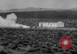 Image of rocket powered sled Muroc California USA, 1948, second 29 stock footage video 65675041471